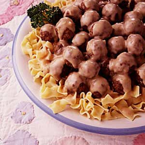 Norwegian meatballs recipe taste of home norwegian meatballs recipe forumfinder Choice Image