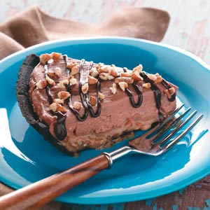 Chocolate Pecan Cheesecake Recipe