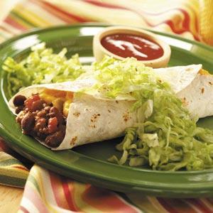 Burritos Made Easy Recipe
