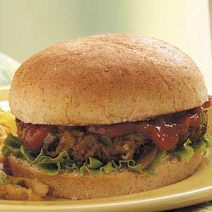 Change-of-Pace Burgers Recipe