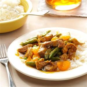 Mandarin Pork Stir-Fry Recipe