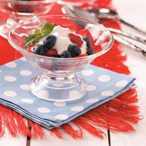 Berry Yogurt Cups Recipe
