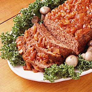 Country Herbed Meat Loaf Recipe