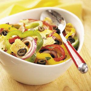 Pretty Pepper Salad Recipe