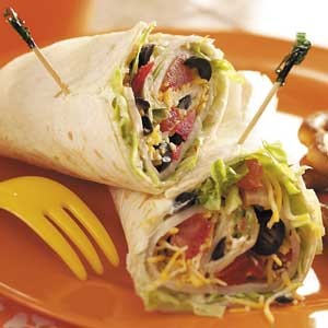 Tortilla Turkey Sandwiches Recipe