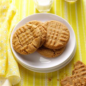 Honey-Peanut Butter Cookies Recipe