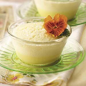 Lemon Pudding Souffles Recipe