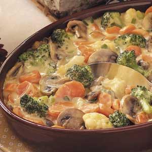 Baked Vegetable Medley Recipe