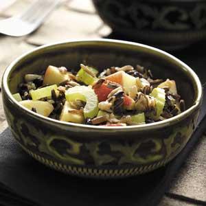 Contest-Winning Wild Rice Apple Salad Recipe