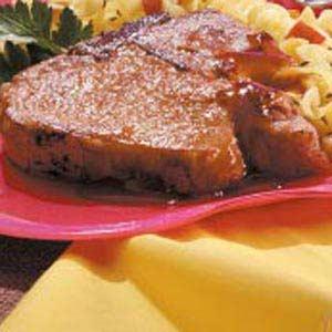 Glazed Chops Recipe