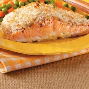 Mustard-Crusted Salmon Recipe