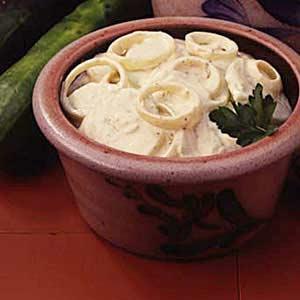 Curried Cucumbers Recipe
