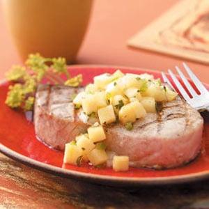 Golden Pineapple Salsa Recipe
