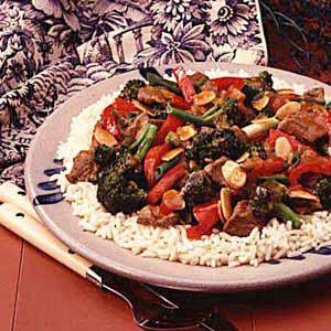 Orange Beef and Broccoli Stir-Fry Recipe