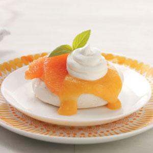 Grapefruit Meringue Shells Recipe