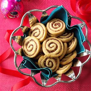 Date-Nut Pinwheels