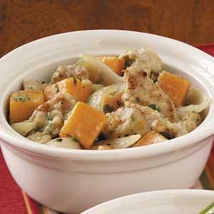 Sweet Potato and Pork Stew Recipe