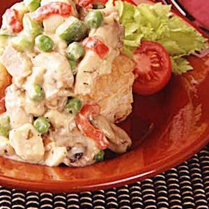 Turkey Mushroom Supreme Recipe