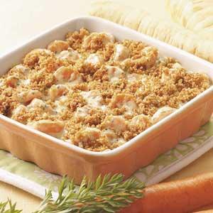 Carrot Casserole for Three Recipe