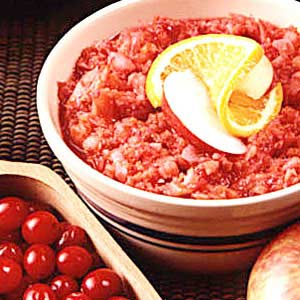 Quick Cran-Apple Relish Recipe