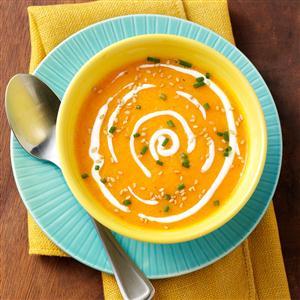 Pretty Autumn Soup Recipe