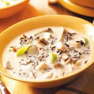 Wild Rice Turkey Soup Recipe