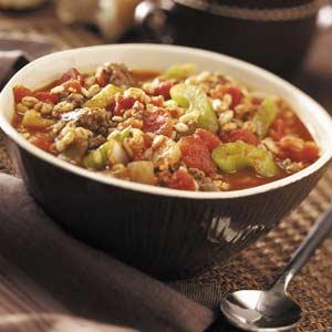 Southwestern Beef Barley Stew Recipe