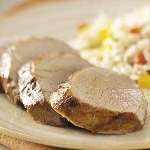 Grilled Ginger Pork Tenderloin Recipe