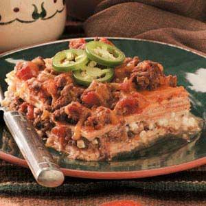 Venison Tortilla Lasagna Recipe