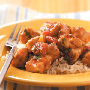 Salsa Orange Chicken Skillet Recipe