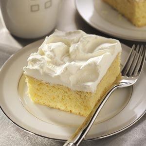 Tastes Like Eggnog Cake Recipe