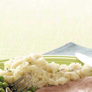 Brie Mashed Potatoes Recipe