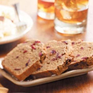 Cranberry Chai Bread Recipe