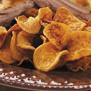 Spicy Sweet Potato Chips Recipe