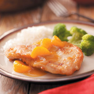 Spiced Mandarin Orange Chicken Recipe