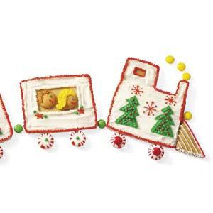 Christmas Cookie Train Recipe