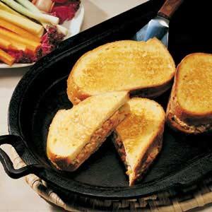 Grilled Salmon Sandwiches Recipe