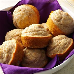 Tender Whole Wheat Muffins Recipe
