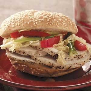 Hoisin Pork Sandwiches Recipe