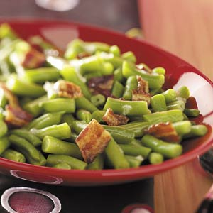 Green Beans in Beer Sauce Recipe
