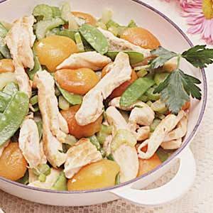 Chicken and Apricot Saute Recipe