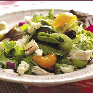 Turkey Tossed Salad Recipe
