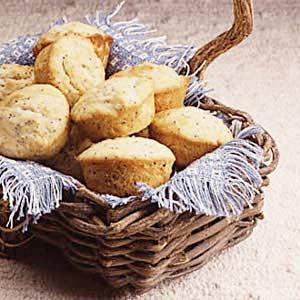 Poppy Seed Pound Cake Muffins Recipe