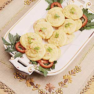 Crabmeat-Cheese Appetizers Recipe