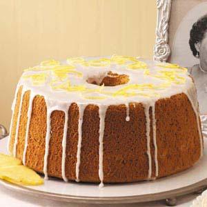 Pineapple Chiffon Cake Recipe