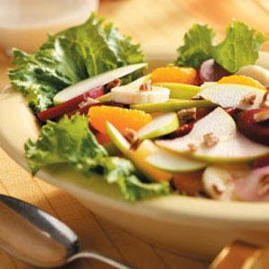 Pecan Fruit Salad Recipe