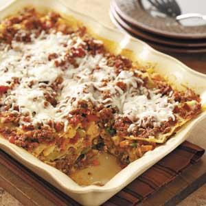 Sneaky Lasagna Recipe