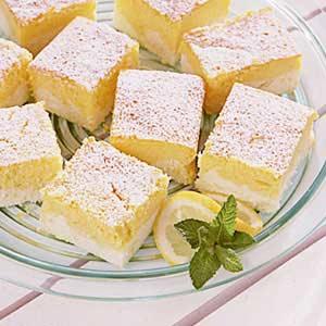 Lemon Ricotta Cheesecake Squares