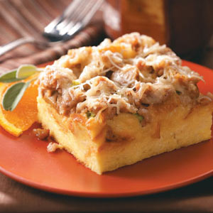 Savory Italian Sausage Strata Recipe