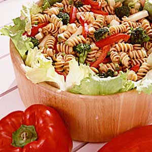 Whole-Wheat Pasta/Cheese Salad Recipe